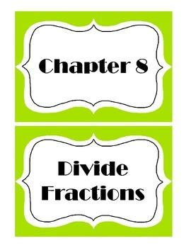 Go Math! Grade 5 Chapter 8 Vocabulary Words