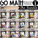 Go Math - Interactive Notebook - The COMPLETE BUNDLE - Fir