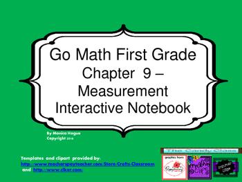 Go Math Interactive Notebook - Grade 1 Chapter 9