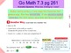 Go Math Interactive Mimio Lesson 7.3 Divide by 5