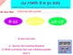 Go Math Interactive Mimio Lesson 8.6 Relate Fractions and
