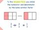 Go Math Interactive Mimio Lesson Ch 6 Fraction Equivalence