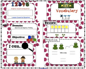 Go Math Kindergarten Unit 6 SMARTboard Lessons