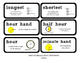 Go Math Lesson Plans Unit 9 - Word Wall Cards - EDITABLE -
