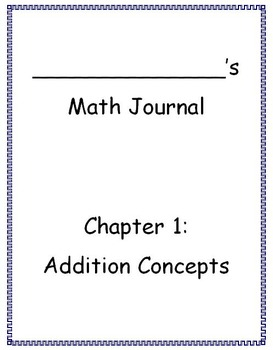 Go Math - Math Journal - Chapters 1-6 Bundle