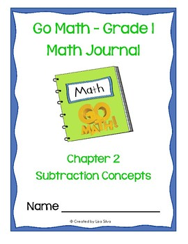 Go Math! Math Journal - Grade 1 - Chapter 2