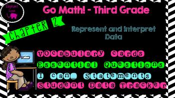Go Math! Third Grade Word Wall/Vocabulary- Chapter 2