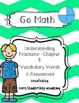 Go Math ~Understanding Fractions~ Chapter 8