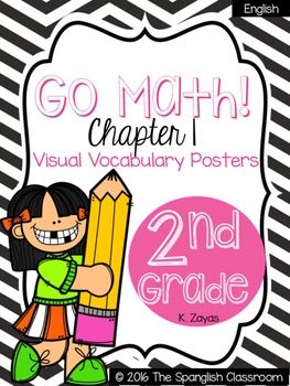 Go Math!  Vocabulary Posters in English- Chapter 1