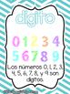Go Math!  Vocabulary Posters in Spanish- Chapter 1