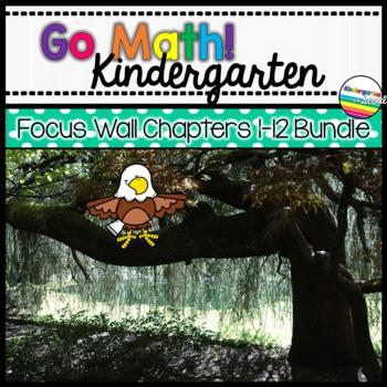 Go Math! Kindergarten Focus Wall Bundle