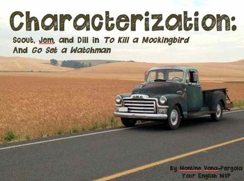 Go Set a Watchman Characterization Assn for To Kill a Mockingbird