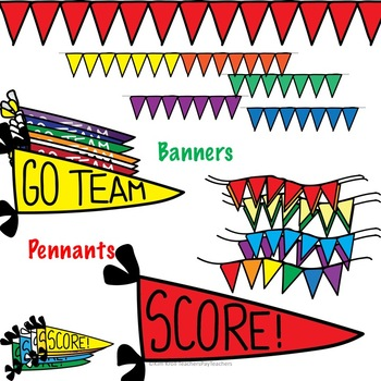 Go Team! Score! Sports Clip Art