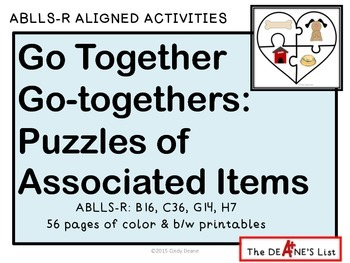 ABLLS-R ALIGNED ACTIVITIES Go Together Go-togethers: Puzzl