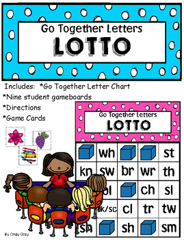 Go Together Letters LOTTO