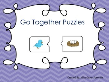 Go Together Puzzles