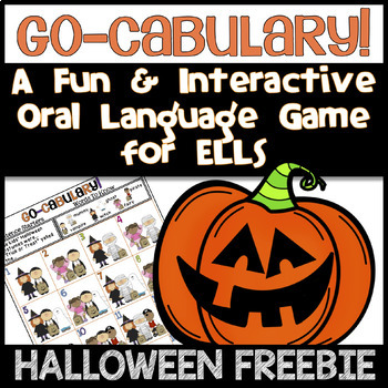 Go-cabulary! A Fun Oral Language Halloween Game for ELLs: