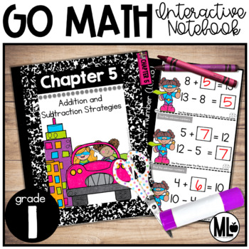First Grade Math Interactive Notebook, Add. and Sub. Relat