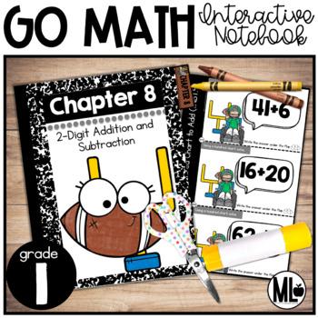 First Grade Math Interactive Notebook, 2-Digit Add. and Su