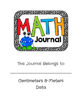 GoMath Journal (Ch. 9 and 10) Grade 2