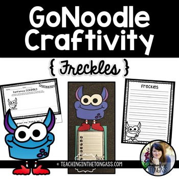 GoNoodle Craftivity (Freckles) Free