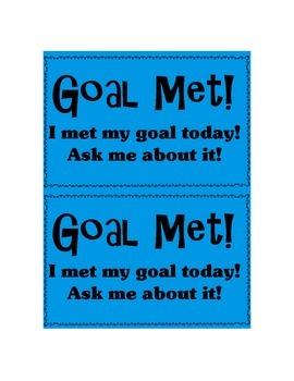 Goal Met