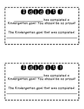 Goal Notes
