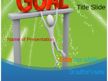 Goal PPT Template