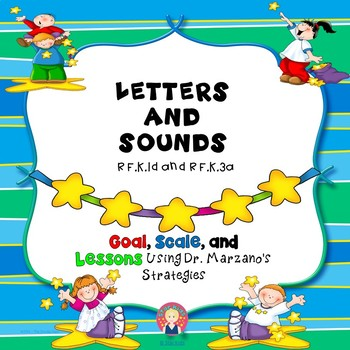 Marzano Lesson - Letters and Sounds {RF.K.1d, RF.K.3a}