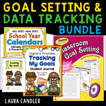 Goal Setting and Data Tracking Bundle