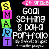 Goal Setting & Data Portfolio {Sixth Grade}