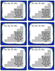 Goal Setting Organizer and Desk Cards for State Assessments