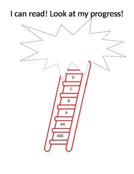Goal Setting Reading Ladder