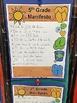Goal Setting - School Year Manifesto Freebie