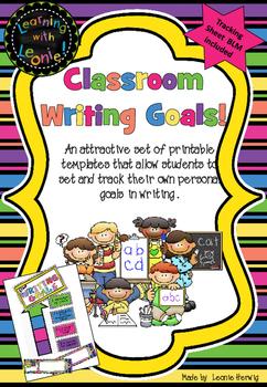 Goal Setting – Writing - free