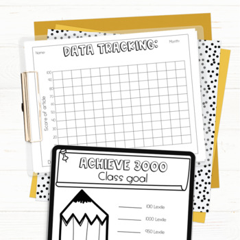 Goal Setting for Achieve 3000