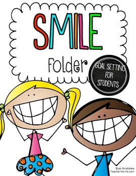 Setting GOALS with Students ~ RtI ~ SMILE Goals for Making