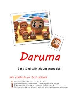 Goal Setting with Daruma Dolls!