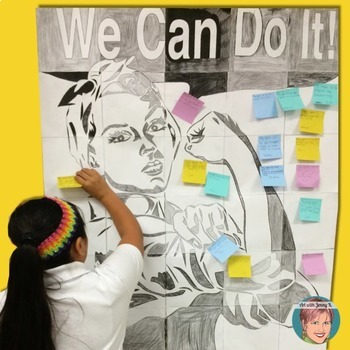 Goal Setting - We Can Do It Growth Mindset Poster