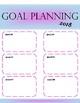 Goals- Goal Setting Printable