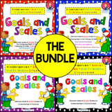 Kindergarten Goals and Scales {THE BUNDLE}