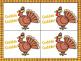Gobble Gobble - A Thanksgiving Alphabet Game