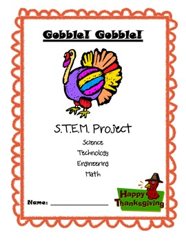 Gobble! Gobble! Thanksgiving STEM project