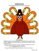 Parts of Speech - Thanksgiving Theme: Activities for 2nd &