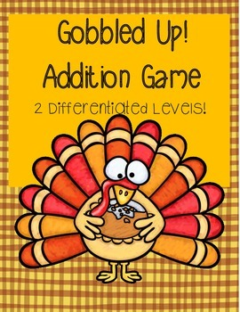 Gobbled Up: A game of Addition (Printables)
