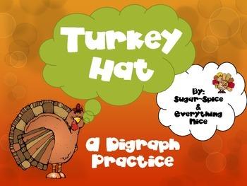 Gobblin' Up Digraphs~ Turkey Hat