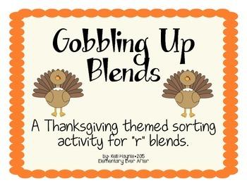 """Gobbling Up Beginning """"R"""" Blends"""