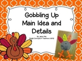 Gobbling Up Main Idea and Details FREEBIE