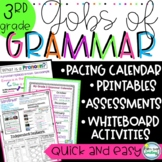 3rd Grade Common Core Grammar: 3rd Grade Grammar Lessons a