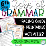 6th Grade Grammar ~ Common Core Aligned